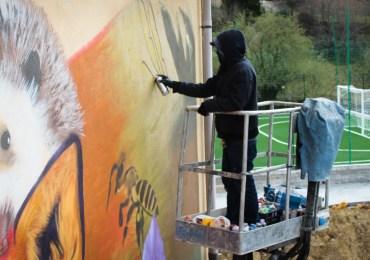 La street art è un'esplosione cromatica