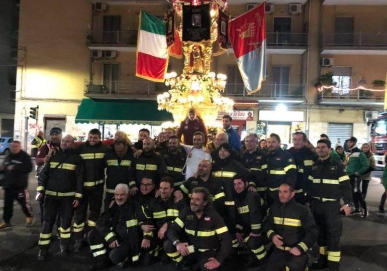 Catania: La Candelora d'oro 2020 ai Vigili del fuoco