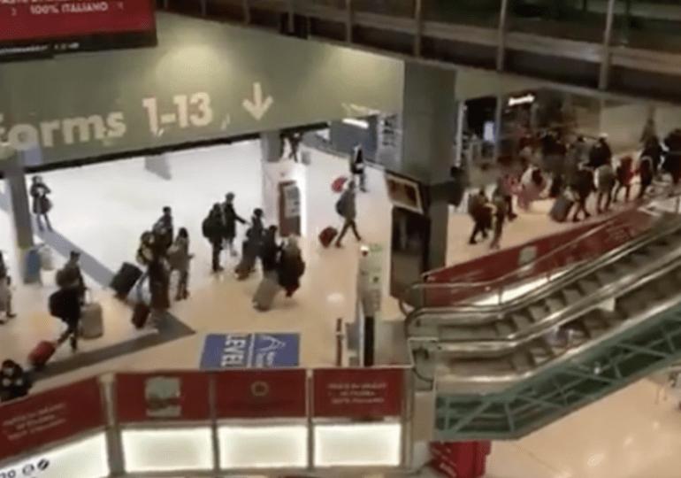 Milano, panico in fuga