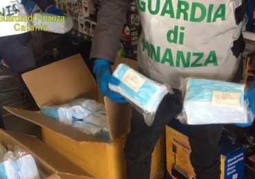 Misterbianco: sequestrate diecimila mascherine non sicure