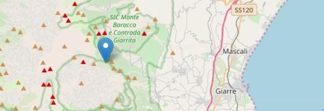 Terremoto, scossa di 3.5 avvertita nel Catanese