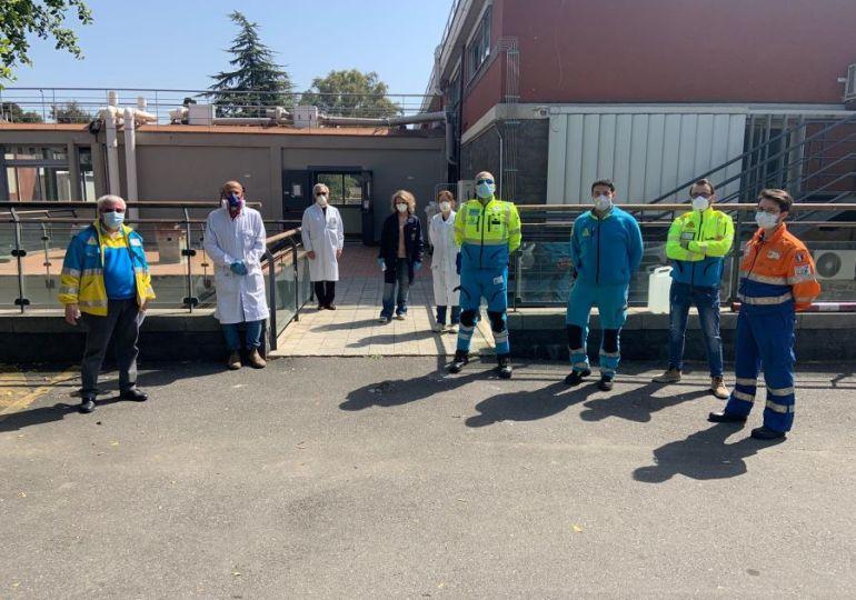 Coronavirus: Università di Catania dona igenizzante alle Misericordie