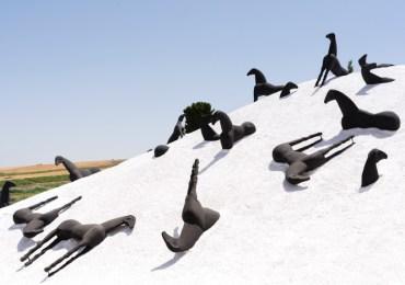 """Riapre """"il museo a cielo aperto"""" di Gibellina"""