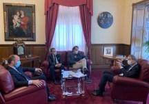 """Nello Musumeci incontra i fondatori di """"Io compro siciliano"""""""