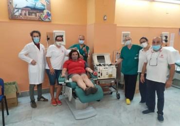 Covid-19: prima produzione di plasma da donatori convalescenti al Garibaldi