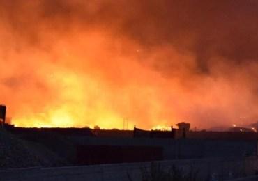 Incendi: notte di fuoco nel Palermitano
