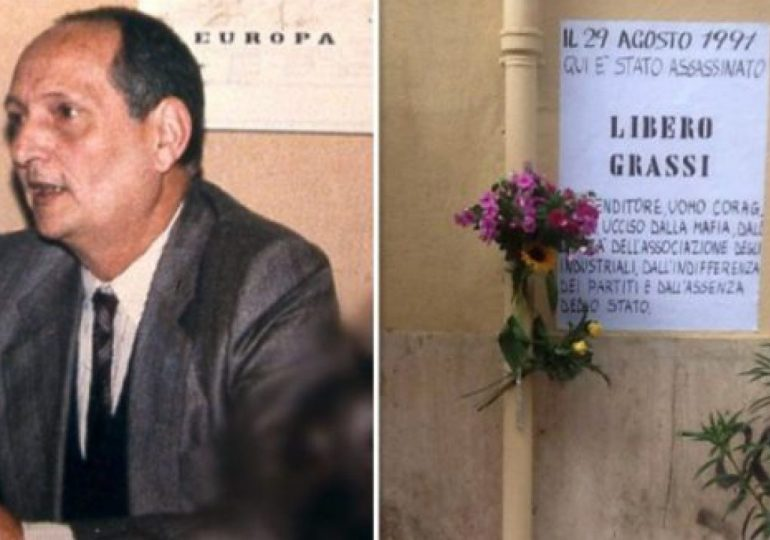 Libero Grassi, 29 anni fa Cosa nostra uccideva l'imprenditore che si ribellò al pizzo