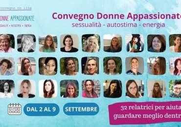 """Educare al piacere, """"Convegno donne appassionate"""": sessuologia, autostima, energia"""