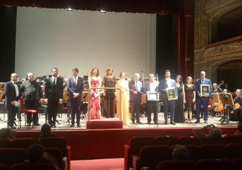 """Grande successo del """"Bellini Reaissance 2020, Premio Bellini d'oro 2020 al Teatro Massimo"""