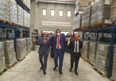 Al MAAS il nuovo magazzino  del Banco Alimentare della Sicilia Onlus