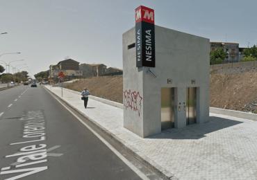 La Metropolitana una barriera architettonica dal 1999
