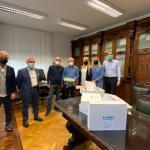 Coronavirus, la famiglia Stivala dona 10 caschi per la respirazione assistita all'Asp 3 di Catania