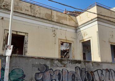 Catania, edificio pericolante in via del Bosco, ASIA USB chiede l'intervento urgente
