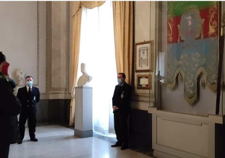 Il sindaco Salvo Pogliese di nuovo in carica a Palazzo degli elefanti