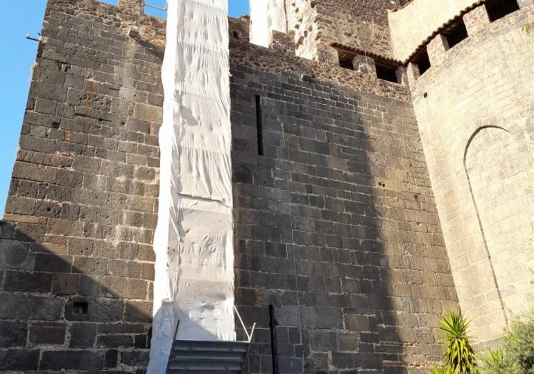 Catania, importi lavori sul tetto della cattedrale