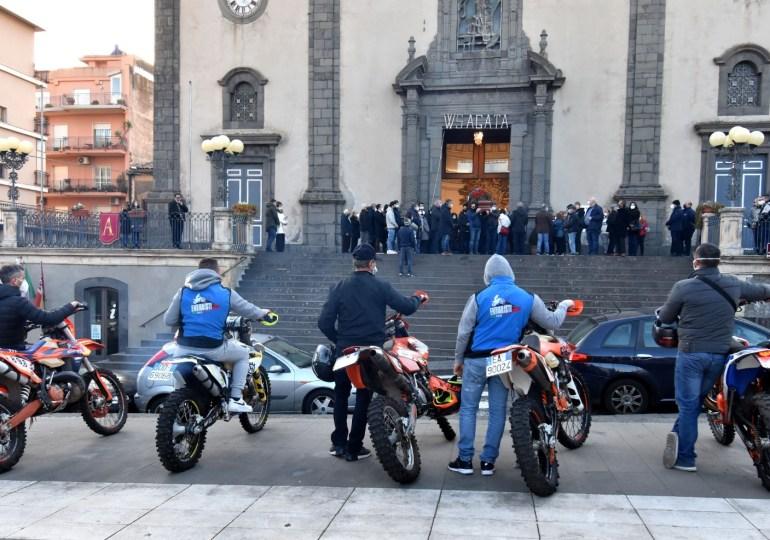 Il Motoraduno internazionale dell'Etna continuerà per onorare Luciano Bellia