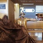Nel Catanese un bronzo interattivo per Battiato