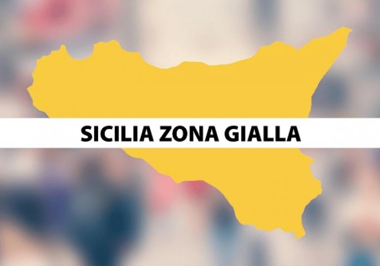 Sicilia in zona gialla, mascherine anche all'aperto