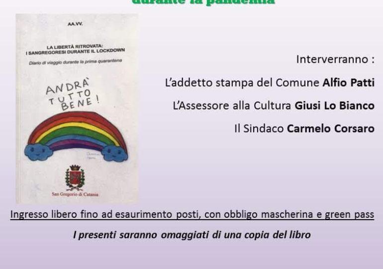 Pubblicato il libro scritto dai sangregoresi durante il lockdown