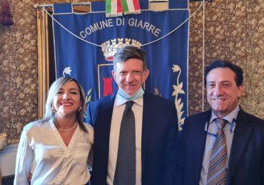 Giarre, insediato il neo sindaco Leo Cantarella