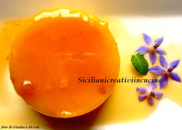 Creme caramel, original recipe