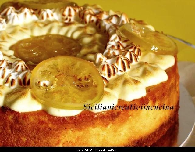 Meringue et crème chibouste au citron gâteau au fromage et miel