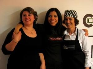 Io, Daniela Corso e Cristina Galliti