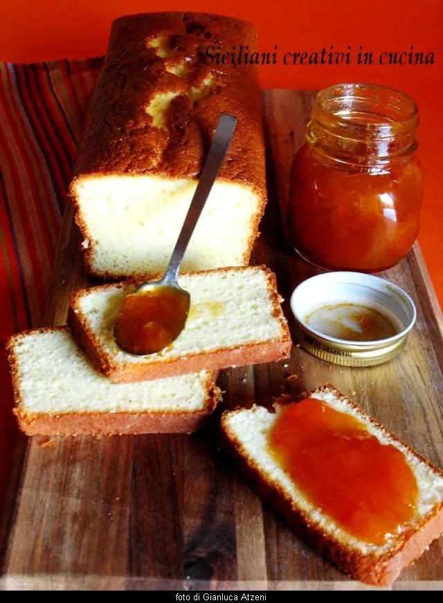 Apricot jam and vanilla