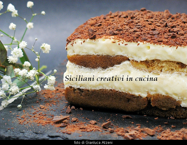 The tiramisu, traditional recipe