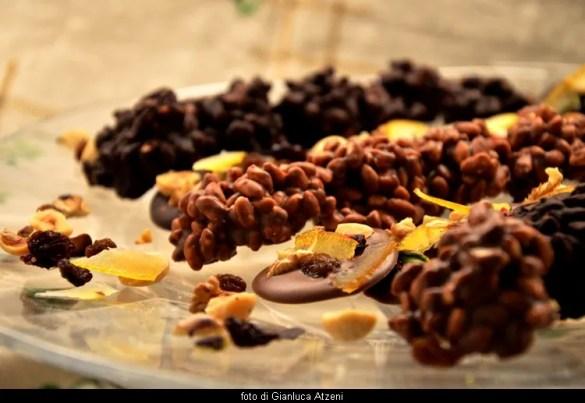 Cioccolatini al riso soffiato e fiorentini