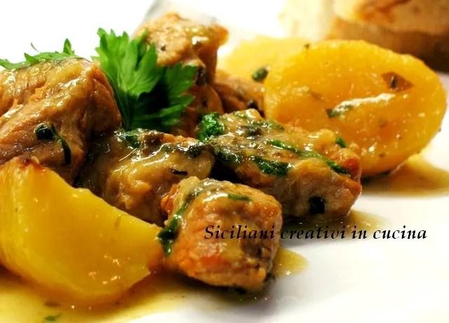 Blanquette de veau aux pommes de terre
