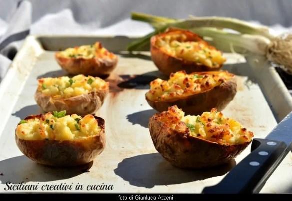 Patate ripiene (jacket potatoes)