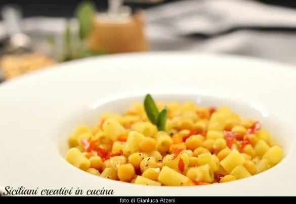Pasta e ceci: ricetta tradizionale italiana, facile e saporita