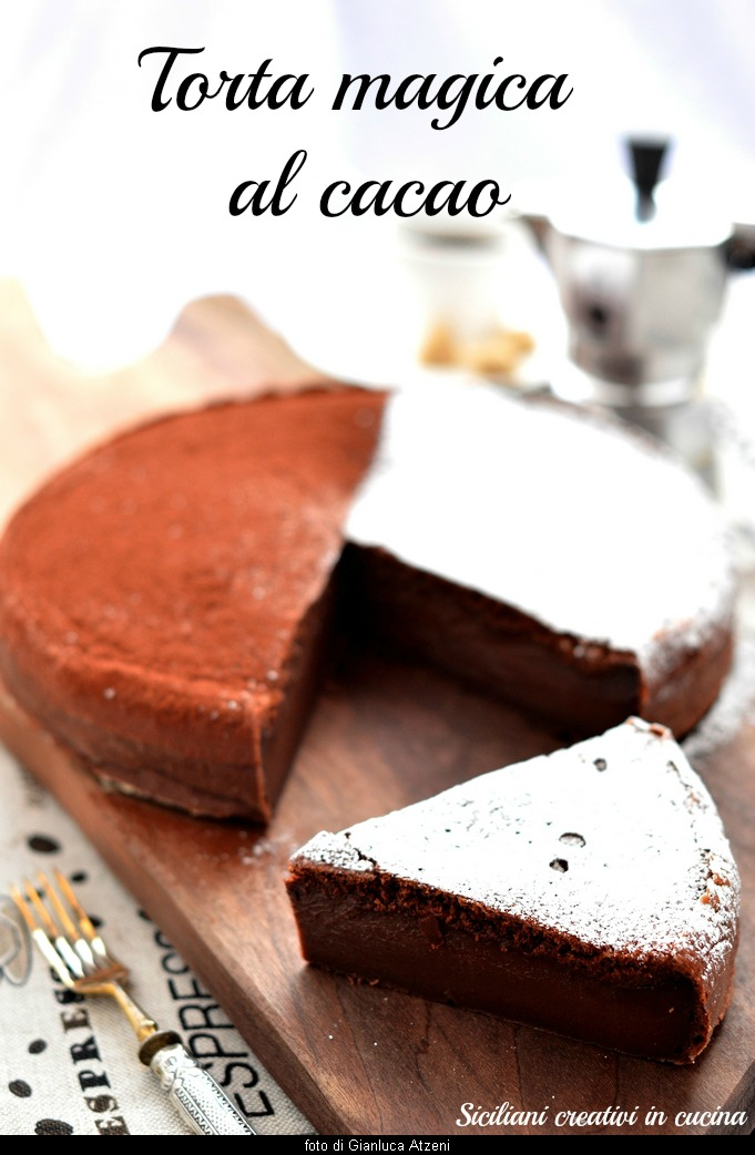 creamy, intense and with three layers and a single dough: Magic Cake Cocoa. Irresistible.