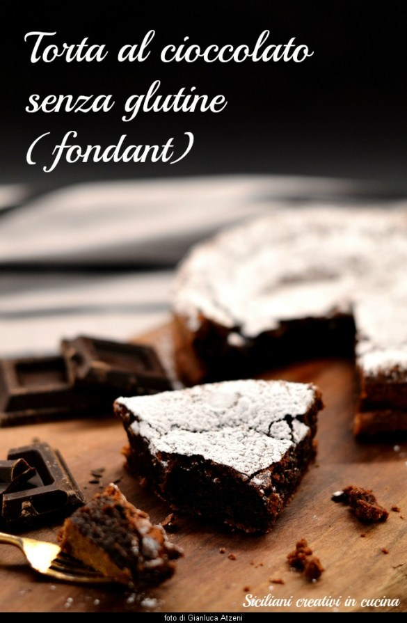 グルテン フリー チョコレート ケーキ (フォンダンショコラ)