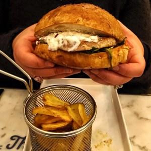 hamburguesa del pescador