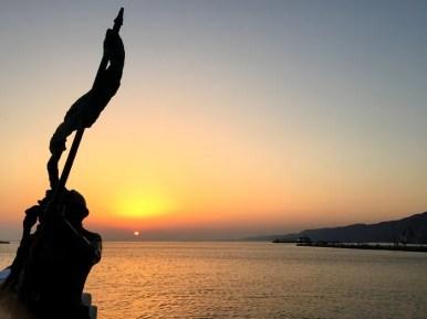 Trieste tramonto