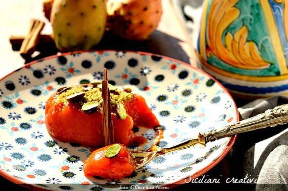 Gelo di fichi d'India, ricetta siciliana originale
