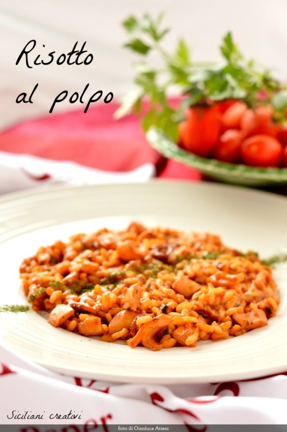 Rice with Octopus: Traditional marinara recipe easy