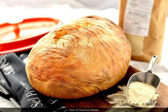 Pane di semola, cotto in pentola