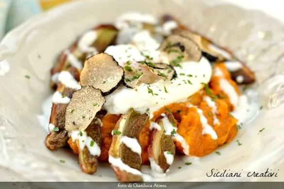 L'autunno nel piatto: zucca, porcini e tartufo