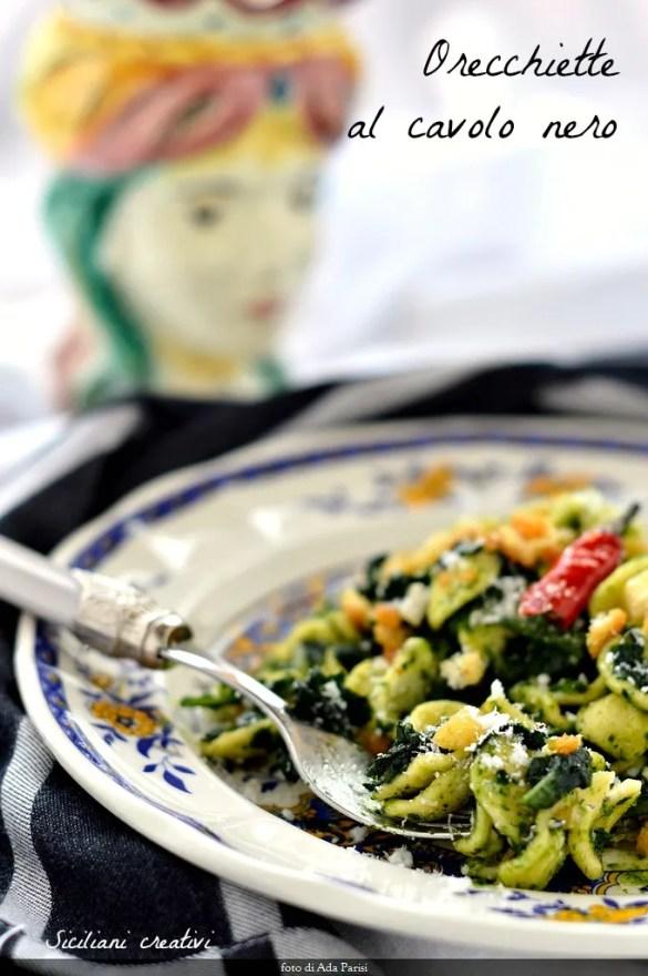 Orecchiette with cabbage