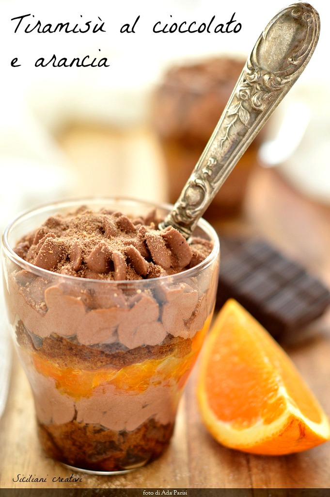 Tiramisu Schokolade und Orange: einfach und lecker