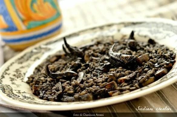 Risotto al nero di seppie, ricetta originale