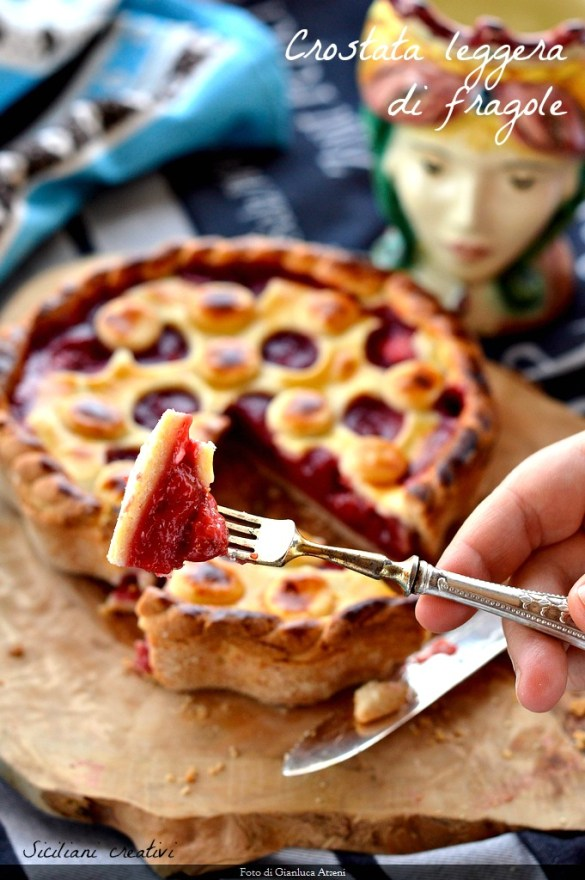 Light Strawberry tart, little sugar and a lot of taste