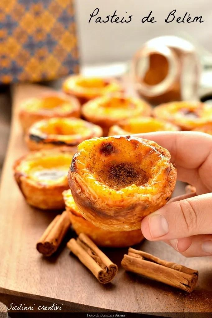 Pasteles de nata (receta original en portugués)