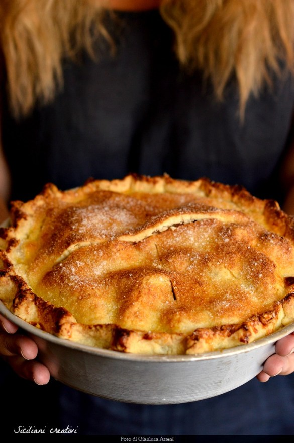 Apple pie, Original recipe of the American apple pie