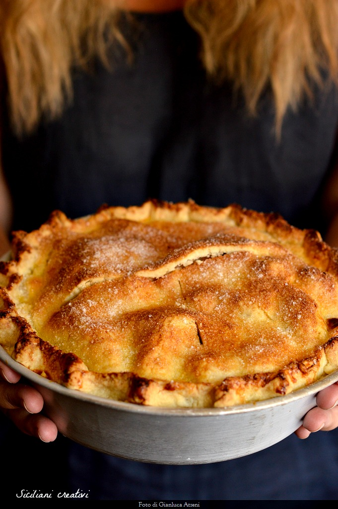 Apfelkuchen, Original-Rezept von amerikanischen Apfelkuchen