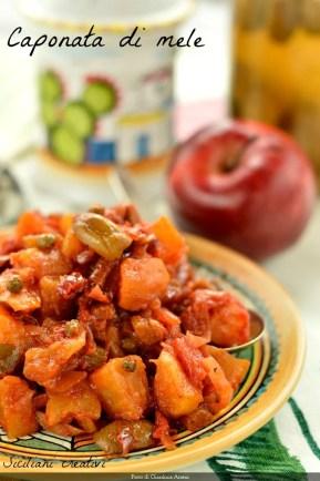 Caponata siciliana di mele