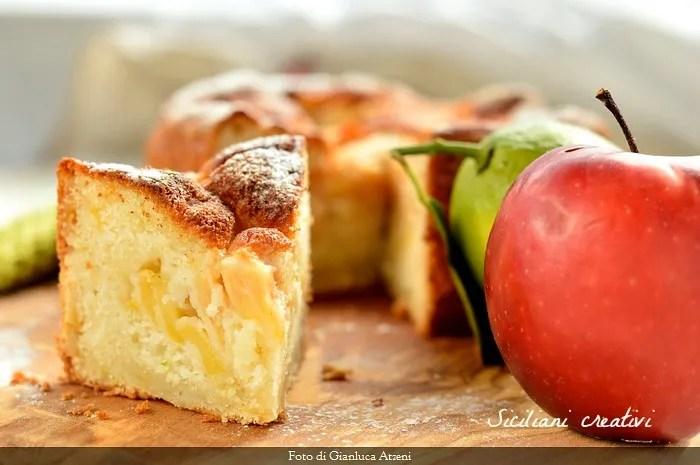 Torta di mele senza uova: buona e sofficissima